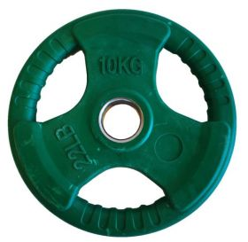 Olympisk vektskive grønn 10kg
