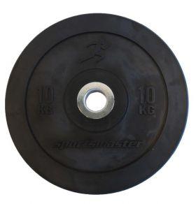 ECO Black Bumper Plate 10 kg