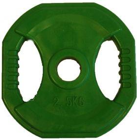 Body Pump vektskive 2,5kg grønn