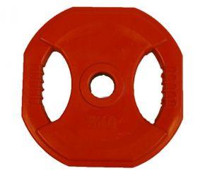 Body Pump vektskive kg rød