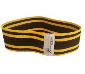 Booty band medium gul og svart fra Sportsmaster