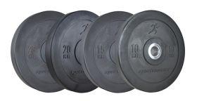 svarte bumper plates