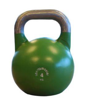 Sportsmaster Competition Kettlebell 4 kg grønn