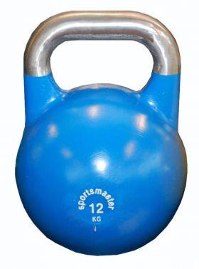 Sportsmaster Competition Kettlebell 12 kg blå
