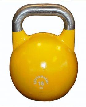 Sportsmaster Competition Kettlebell 16 kg gul