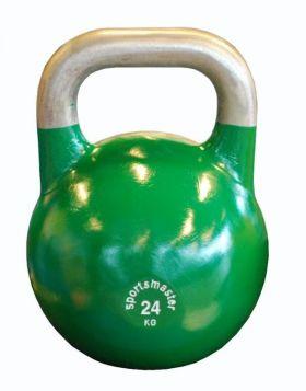 Sportsmaster Competition Kettlebell 24 kg grønn
