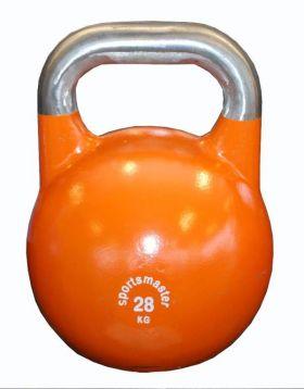 Sportsmaster Competition Kettlebell 28 kg oransje