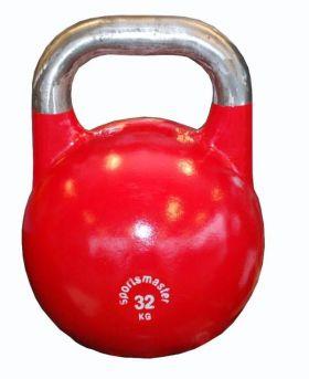 Sportsmaster Competition Kettlebell 32 kg rød