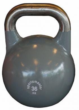 Sportsmaster Competition Kettlebell 36 kg grå