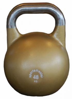 Sportsmaster Competition Kettlebell 48 kg gull