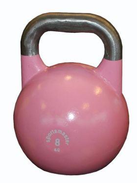 Sportsmaster Competition Kettlebell 8 kg rosa