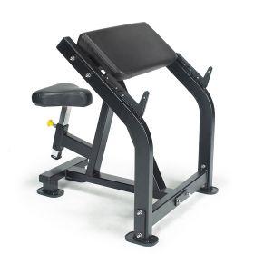 Lexco LF218 Preacher Curl Bench styrkeapparat svart