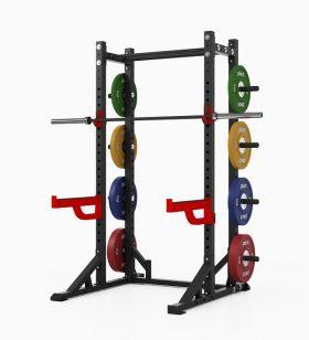 Pivot X6610 Athletic Half Rack med vektstang og vektskiver