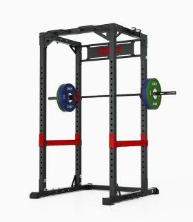 Pivot X6250 Power Rack treningsstativ med vektstang og vektskiver