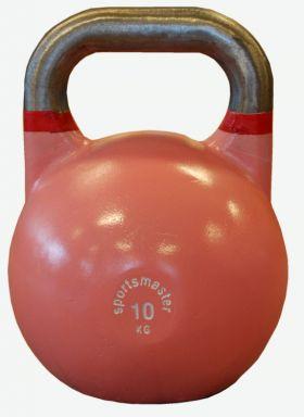 Sportsmaster Competition Kettlebell 10 kg rosa