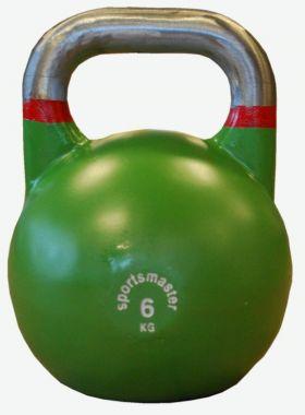 Sportsmaster Competition Kettlebell 6 kg grønn