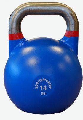 Sportsmaster Competition Kettlebell 14 kg blå