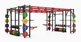 Pivot X Athletic Bridge Rack Double